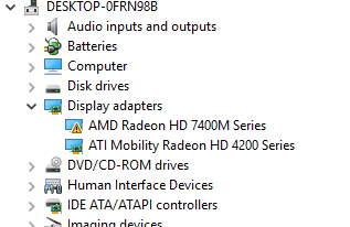 How to Enable Device in device manager AMD Radeon HD 7400M series VynE5ZA.png