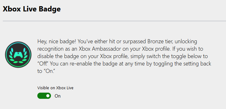 Xbox Ambassador badges are coming to Xbox Live Website-Opt-Out.png