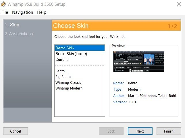 Winamp 5 8 media player now available with Windows 10 support
