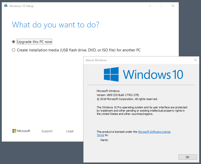 You can upgrade to the Windows 10 May 2019 Update right now (but you shouldn't) windows-10-may-2019-upgrade.png