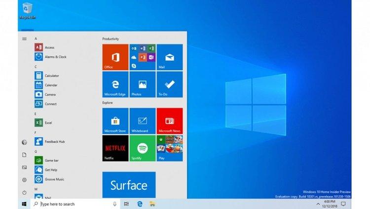 Start Menu gets its own process and a performance boost in Windows 10 19H1 windows-10-start-menu-19h1.jpg