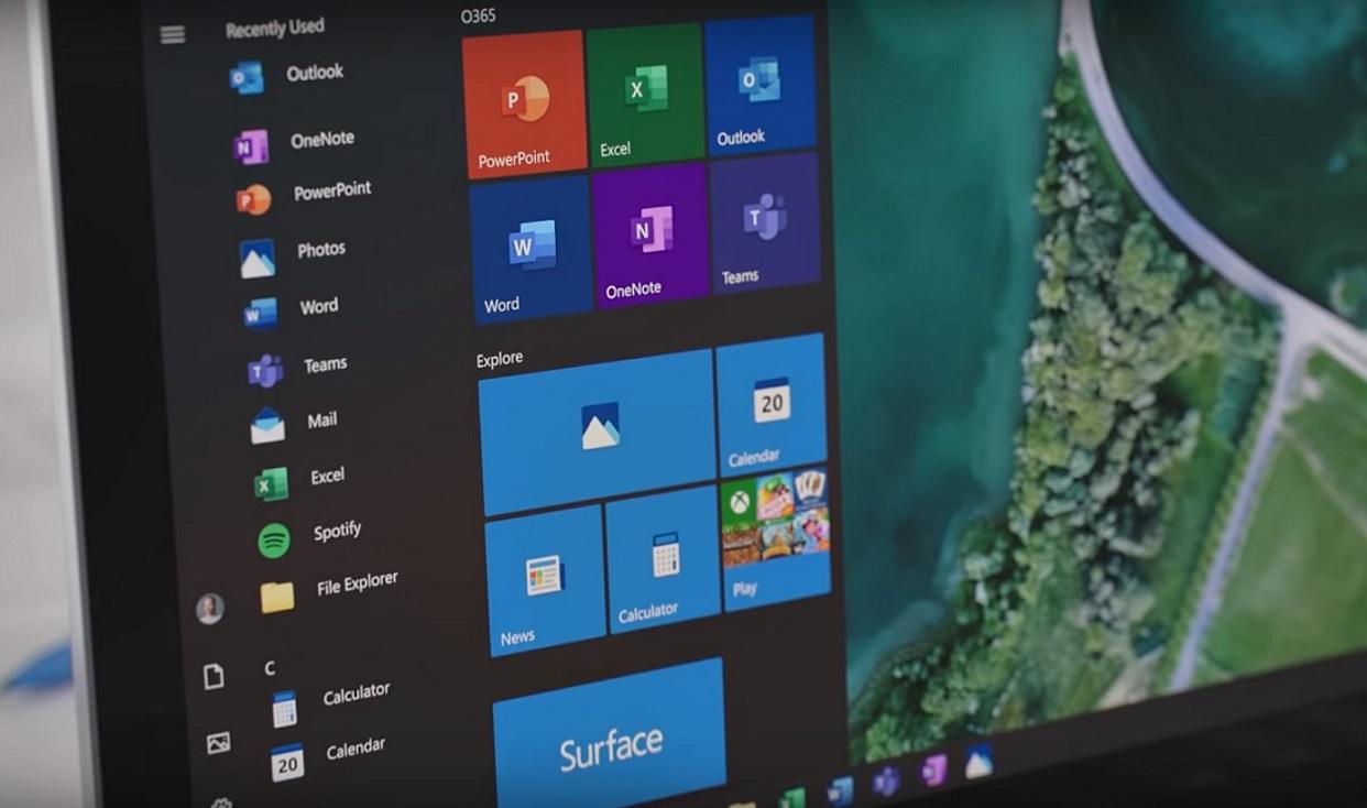 windows 10 april 2019 update download size