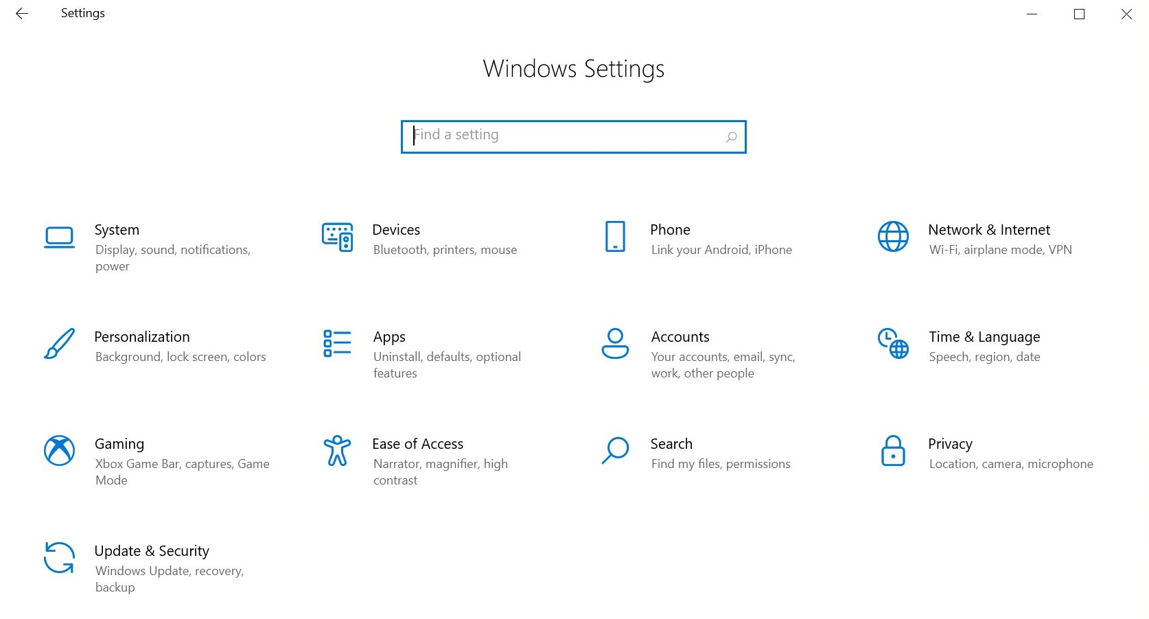 Windows 10 Sun Valley update reveals 'refreshed' system icons with Fluent UI Windows-10-system-settings.jpg