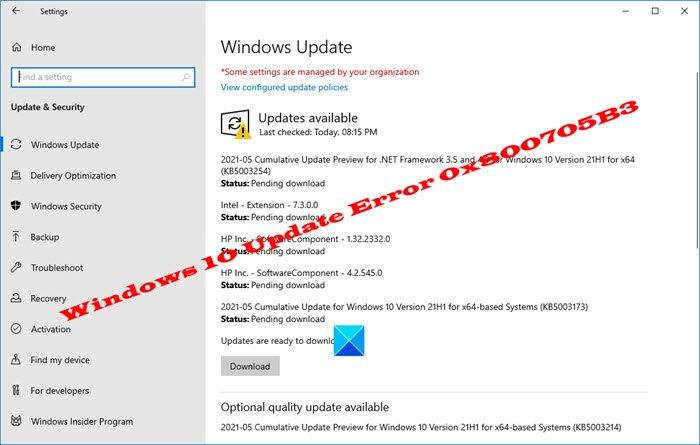 Fix Windows 10 Update Error 0x800705B3 Windows-10-Update-Error-0x800705B3.jpg