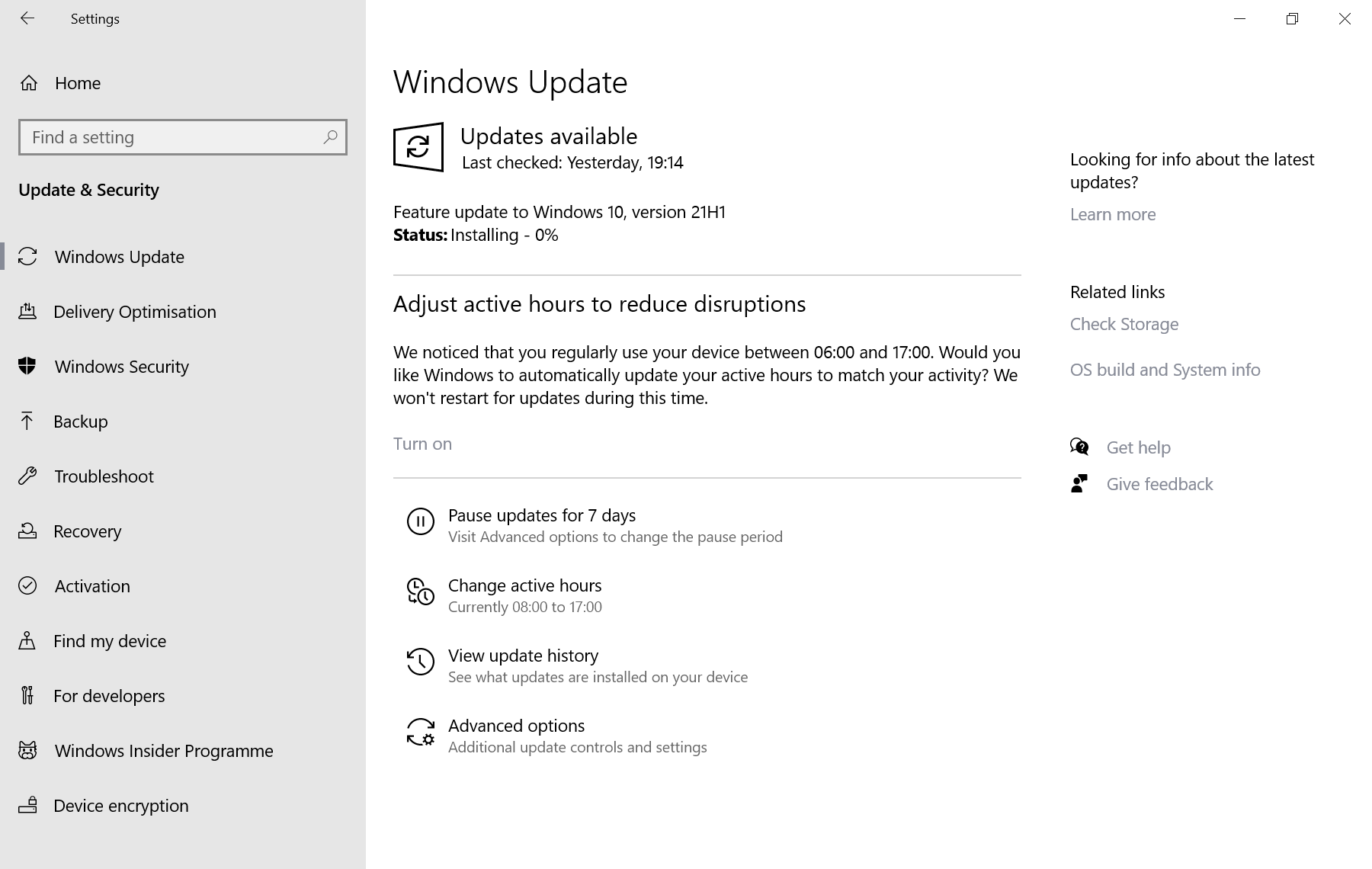 Windows 10 version 21H1 has been released windows-10-version-21h1-installation.png