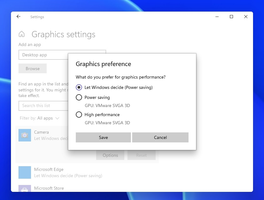 Windows 11 includes support for WDDM 3.0 (display driver model) Windows-11-graphics-settings.jpg