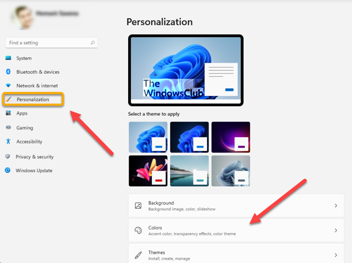How to turn off window border color in Windows 11 windows-11-personalization.png