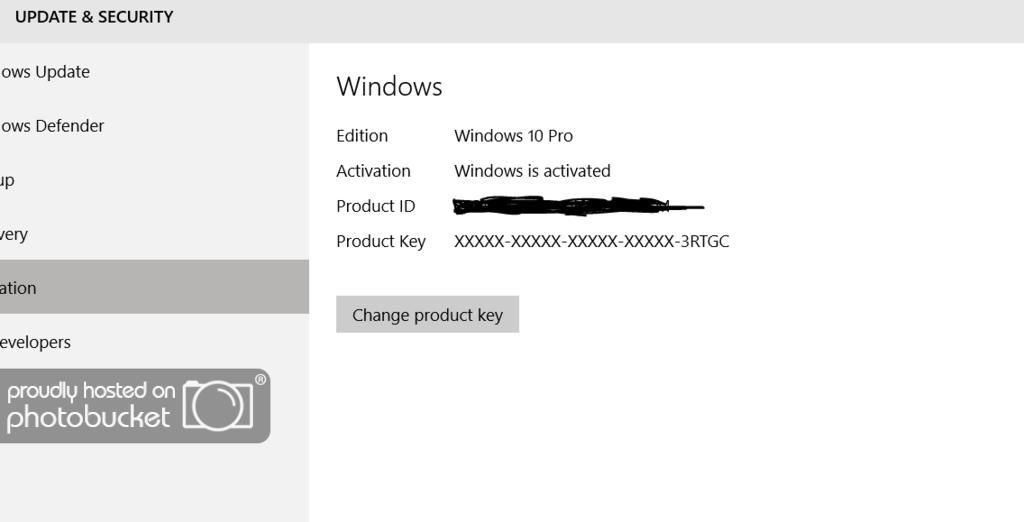 Stuck in a Windows 10 de-activation/re-activation loop  OEM