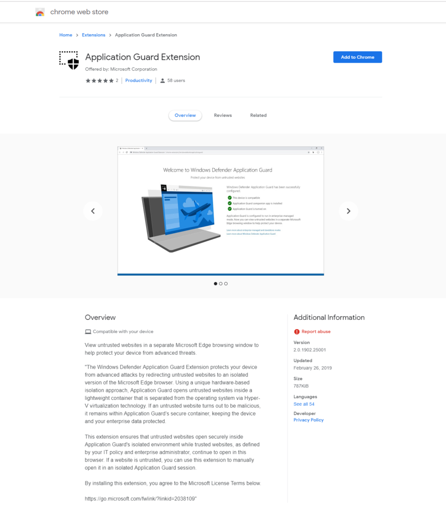 Open New Application Guard Window in Microsoft Edge windows-defender-application-guard-chrome-store-903x1024.png