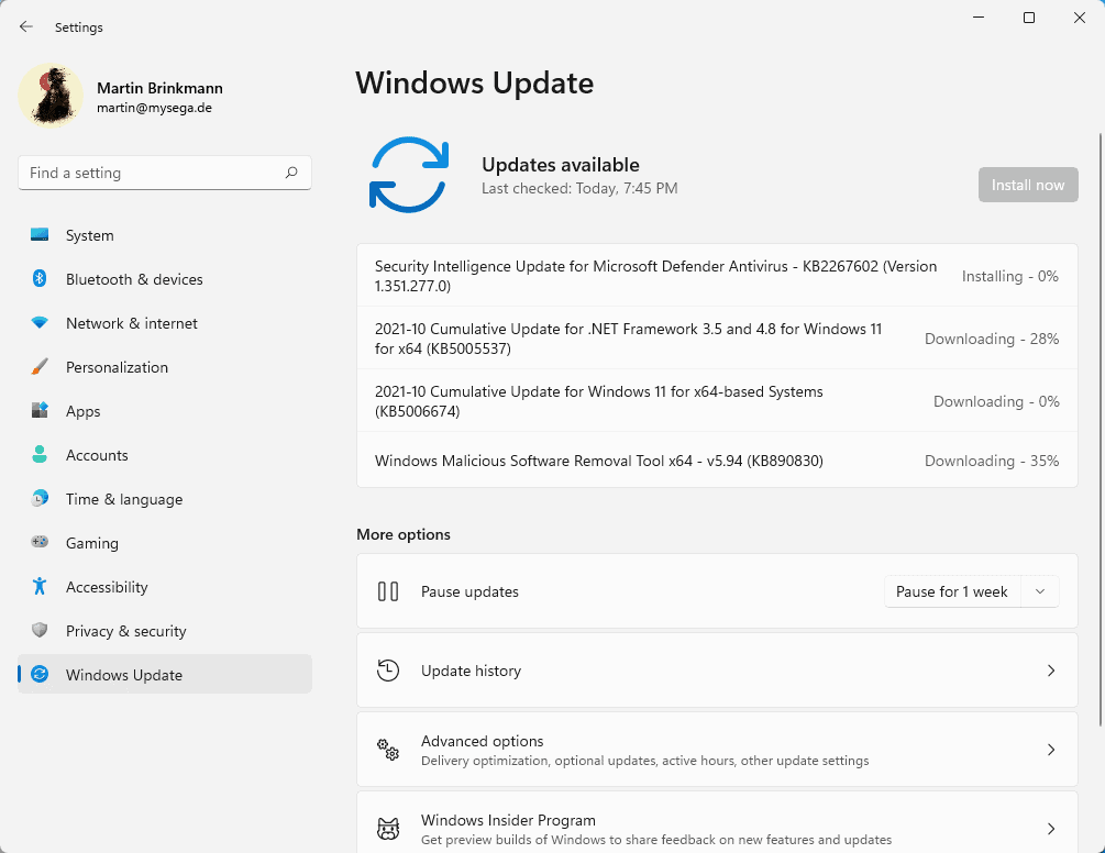 Windows 11 on incompatible systems: Windows Update is working fine windows-security-updates-october-2021.png