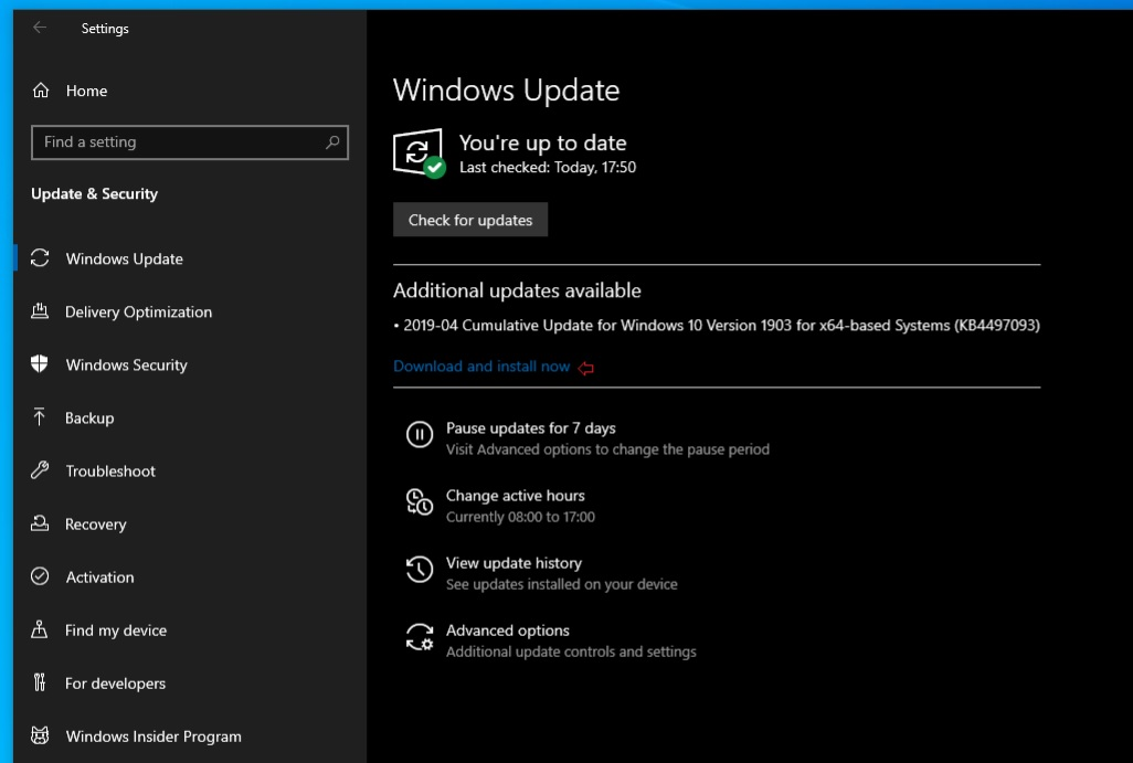 Windows 10 May 2019 Update gets a new Windows Update feature Windows-Update.jpg