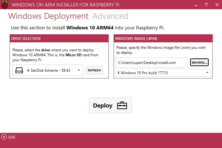 Developer releases WoA installer to bring Microsoft's WoA to Raspberry Pi 3 WoA-installer.jpg