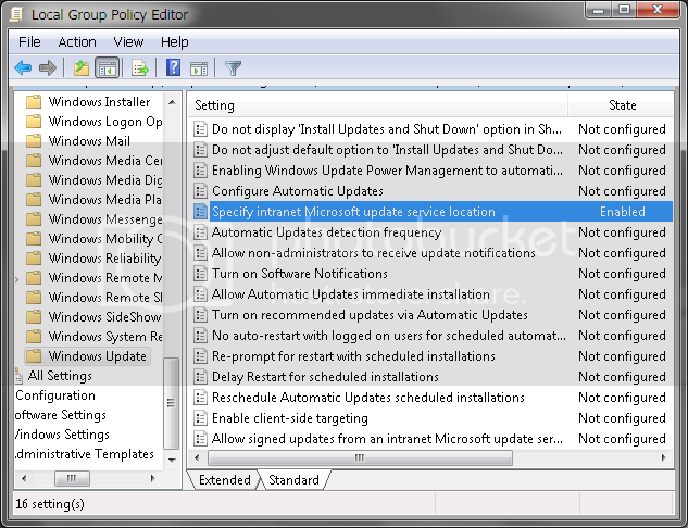 Why can't I get Windows Update controls on Windows 10 like WSUS has for many years? WSUSsetup04.png