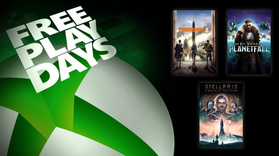 Free Play Days on Xbox One for October 17 to 20  Xbox XBL_Free-Play-Days_101719_940x528-Wire.jpg