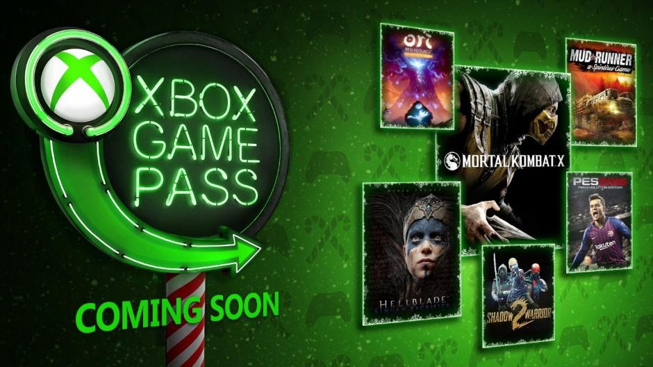 Xbox Game Pass - December New Games XGP_DEC_2018_B-hero.jpg