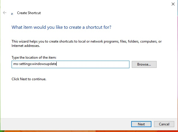 Windows Update Shortcut on Desktop XTIR9c2.jpg