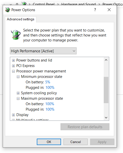 How to properly limit cpu usage in power options ? Xyziddh.png