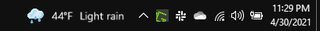 I normally find it a bit annoying when MS adds new stuff to the taskbar, but I kind of like... zcvpqvybifw61.png